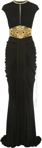 Frivolous Fabulous - Alexander McQueen Gown for Miss Frivolous Fabulous