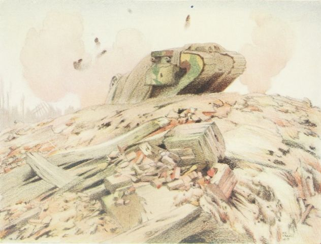 A Wounded Tank