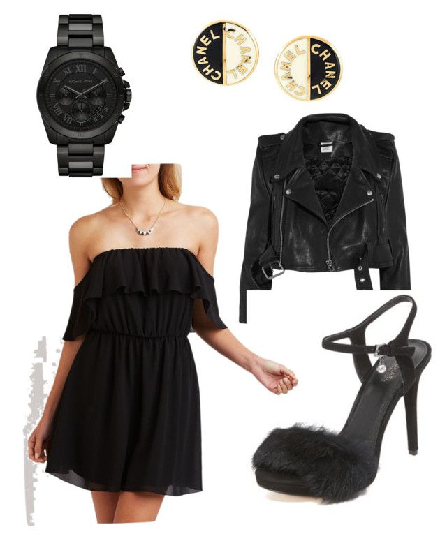 """""""Simplicity."""" by desmaatoe on Polyvore featuring Vetements, MICHAEL Michael Kors, Charlotte Russe, Michael Kors and Chanel"""