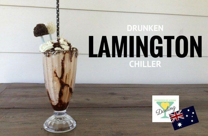 Drunken Lamington Chiller » Thermomix Me A Drink Darling