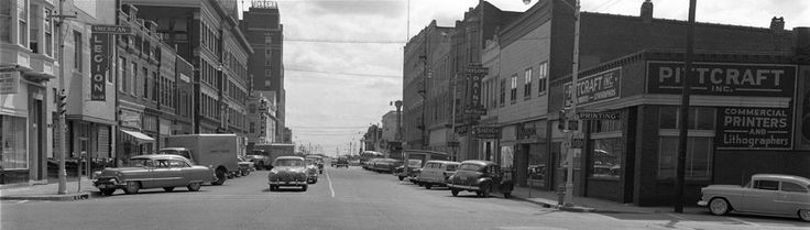 Pittsburg, Kansas in the 40's.