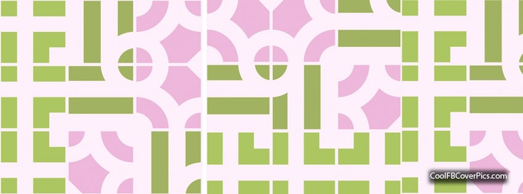 Free Facebook Cover Pics...pink & green