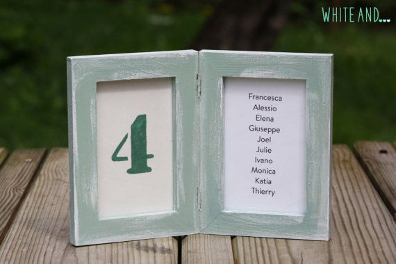 Set of 4 pieces of shabby chic table number frames, centerpiece, photo frame, mint or white. Buy it here for $63.50: https://www.etsy.com/listing/233233439/set-of-4-pieces-of-shabby-chic-table?ref=shop_home_active_6 #tablenumberframe #frame #mintframe #shabbychicframe #shabbychic #shabby #whiteand #wedding #number #numberholder #centerpiece