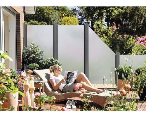 17 best images about zaun sichtschutz on pinterest fence design wisteria and metal furniture - Vorgartenzaun modern ...