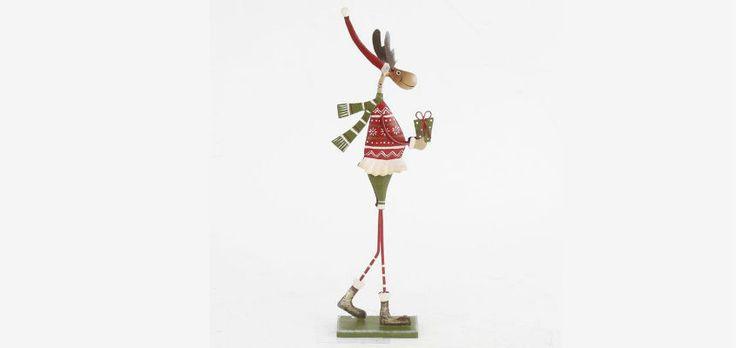 Box-Home • Διακοσμητικό Metal Deer