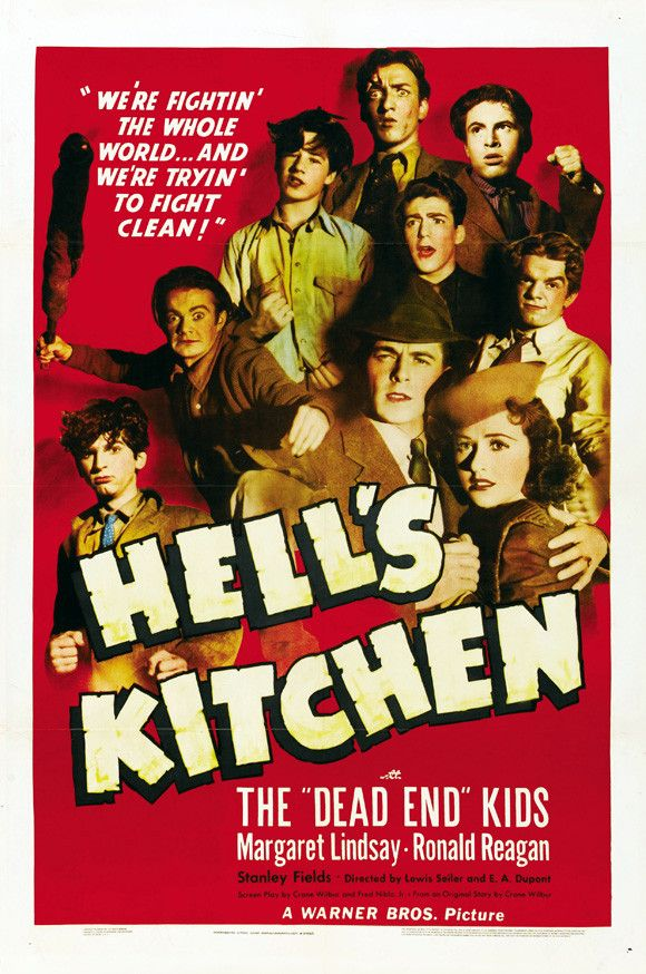 Hell's Kitchen 11x17 Movie Poster (1939)