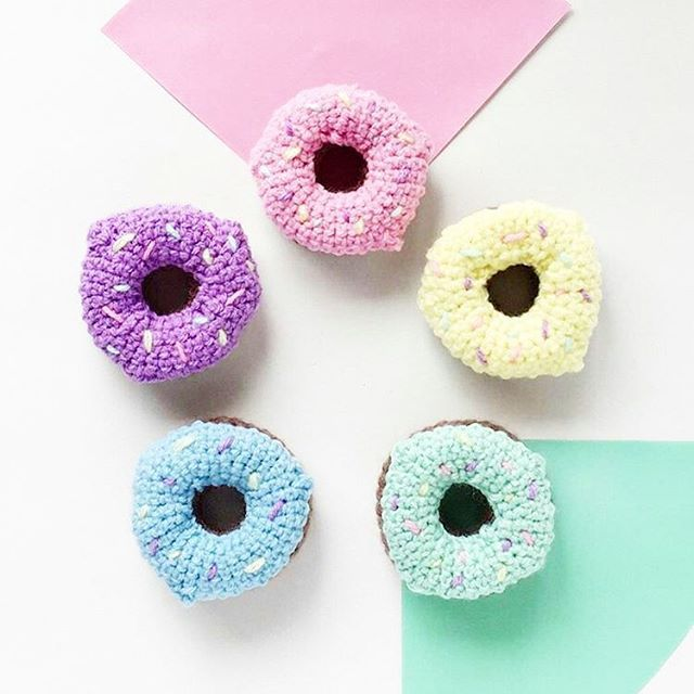 You can't buy happiness but you can buy D🍩NUTS. And that's kind of the same thing. 😄 Find these yummy crocheted donuts at @poppyandperidot shop: www.poppyandperidotstore.etsy.com  .  #donuts #doughnuts #donutlover #lovedonuts #happiness #quoteoftheday #imhappy #colorful #smallbiz #mycreativebiz #makersgonnamake #hellosmallshop #creativelifehappylife #handsandustle #tnchustler #creativeentrepeneur #girlboss