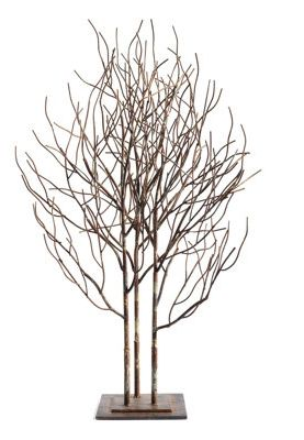 Create A Chic Forest Scene Upon Your Tabletop Or Mantel With Our Grove Of  Trees,