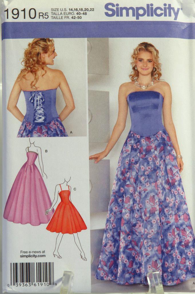 17 besten Jessica McClintock Sewing Patterns Bilder auf Pinterest ...