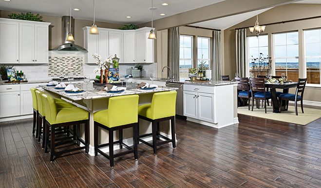 Seth Den Kitchen Nook Blue Seth Floor Plan Richmond American Homes Kitchen