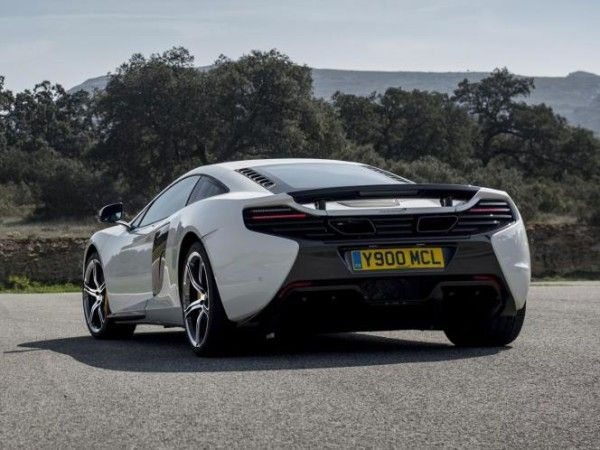 2014 McLaren 650S Coupe MSO rear view 600x450 2014 McLaren 650S Coupe MSO Review, Specification, Price, with Images