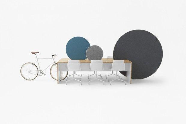 """Installation """"rolling workspace"""" par nendo pour ORGATEC Cologne - Journal du Design"""