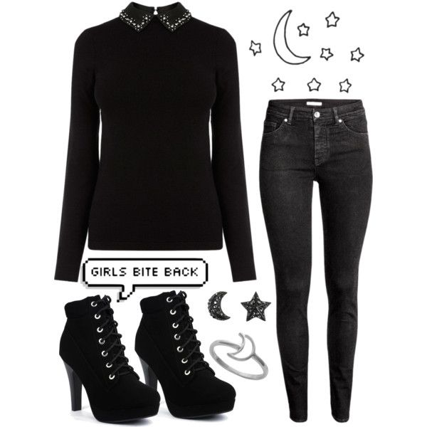 Untitled #7 by pastellilapsi on Polyvore featuring H&M and Midsummer Star