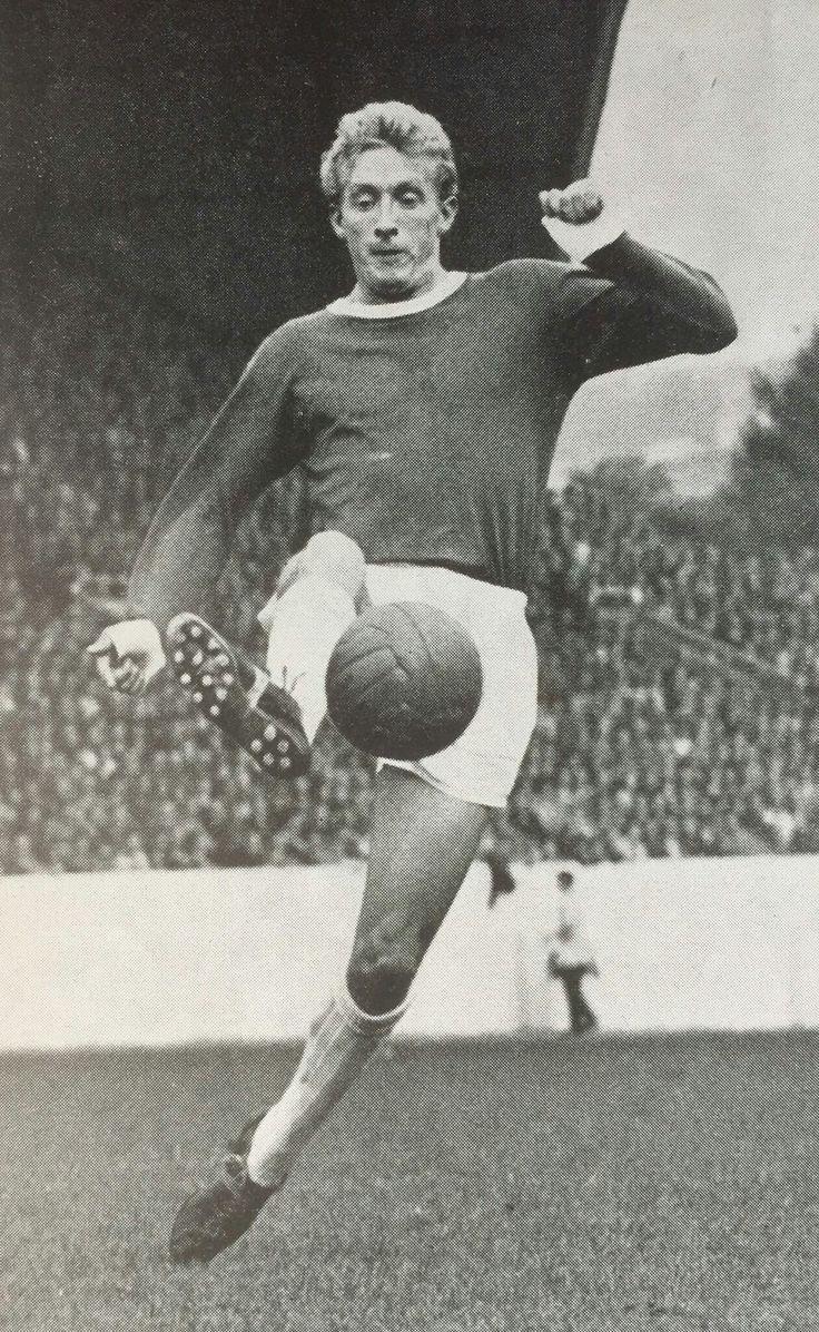 Denis Law of Man Utd in 1962.