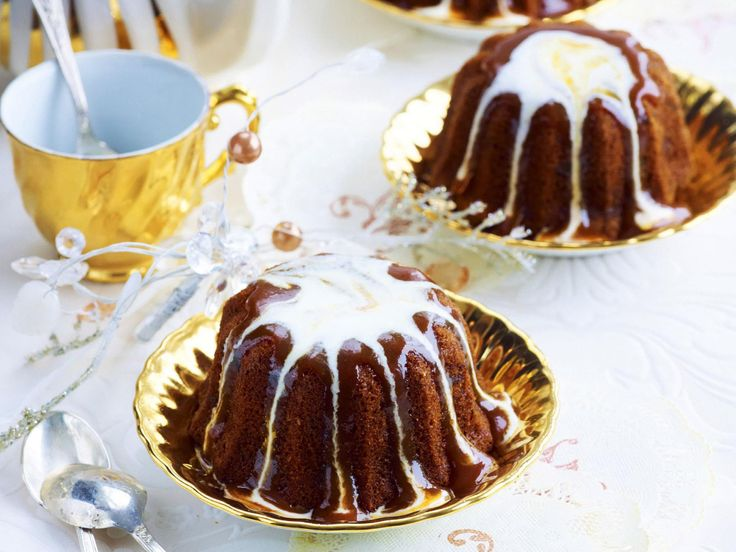 It's the toffee sauce that makes these little sticky date puddings super delicious, and extra indulgent, rich with the dark flavours of caramelised sugar.