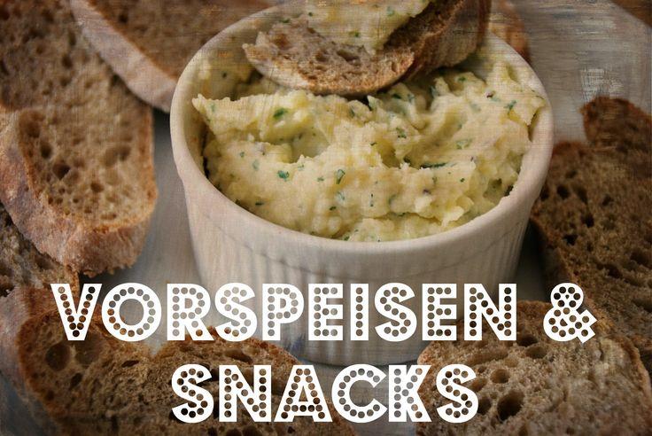 Apfelstrudel Oatmeal  Artischocken-Dip  Belegte Brötchen  Brot (Dinkel)   Caesar's Salat   Gefüllte Wraps   Grünkohlch...