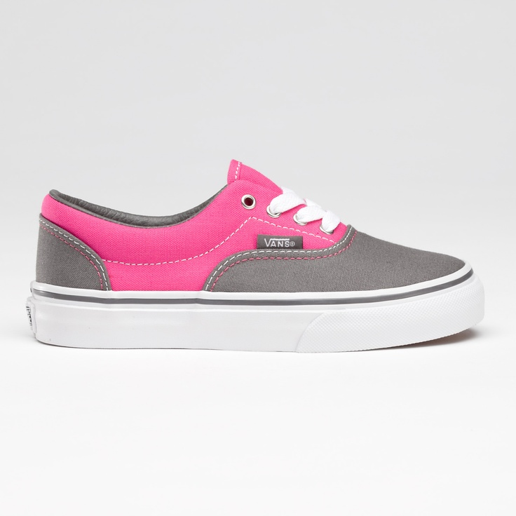 gray and pink vans, perfect for a punky chick like me.