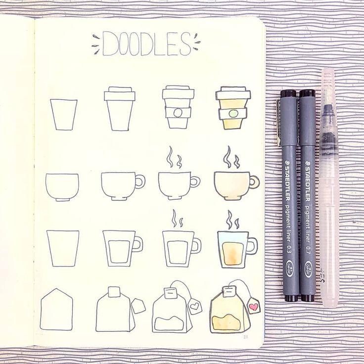 Пошаговые картинки для личного дневника