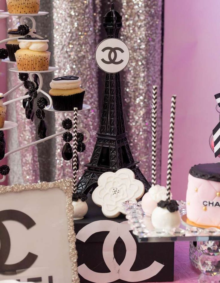 Chanel Birthday Party Ideas | Photo 1 of 112