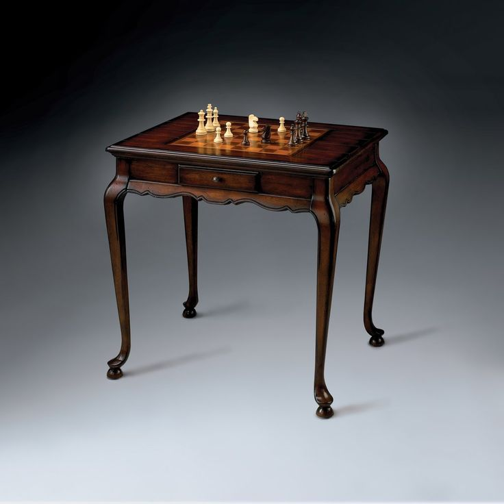 Bannockburn Plantation Cherry Game Table by Butler Specialty Company 1 – The Rustic Furniture Store