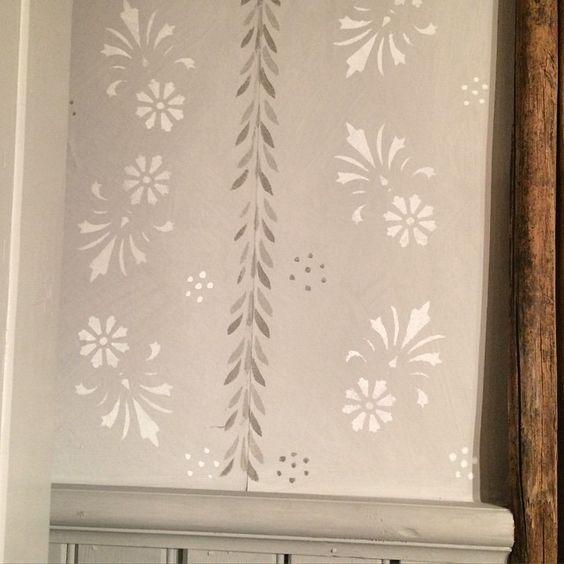 Bildresultat för schablonmålning vägg