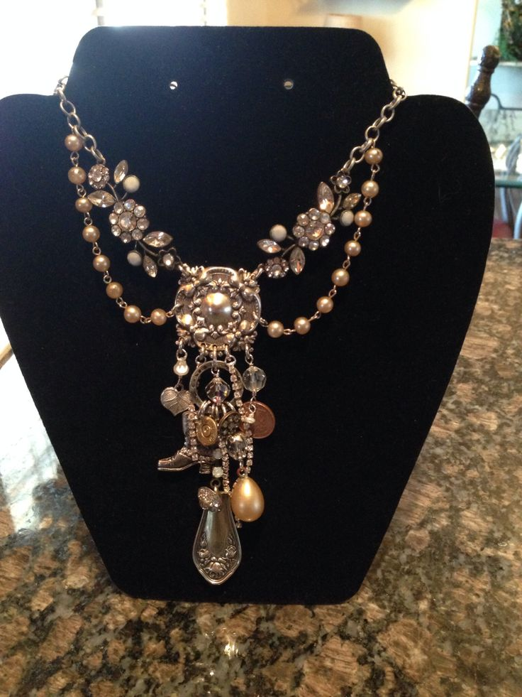 recycled vintage jewelry
