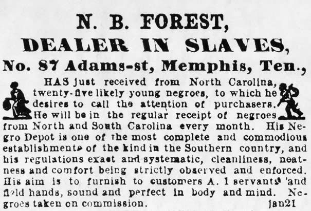 The Slave Trade — Slave Sale Advertisement — History.com Photo Galleries