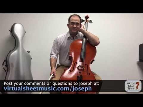 Cello Lesson - How to Play Harmonics on the Cello - YouTube