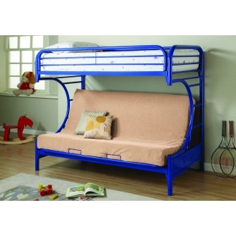 Element Futon Bunkbed Blue
