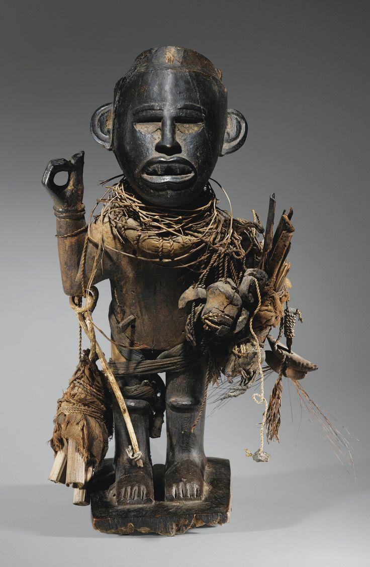 Statue, Kongo, République Démocratique du Congo | Lot ...