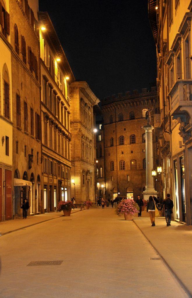 Via Tornabuoni, Florence, Tuscany_ Italy