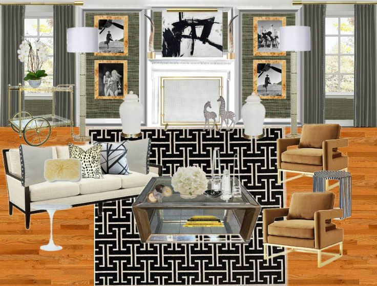 Living Room Design Plans For The Makeover By Bliss At Home