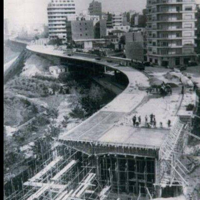 Front de Mer boulevard in #Oran under construction 🚧 . # ...