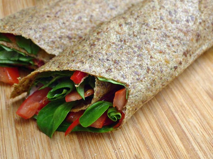 Rohkost Leinsamen-Wraps - Kohlenhyd-Art paleo dinner casserole