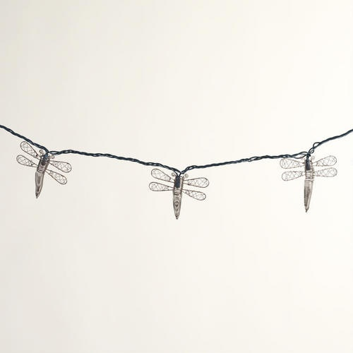One of my favorite discoveries at WorldMarket.com: Copper Dragonfly String Lights