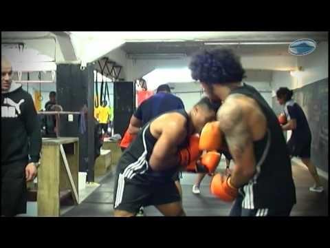The Blues workout at Ludus Magnus Gym with Joe Nauhafu & Monty Betham