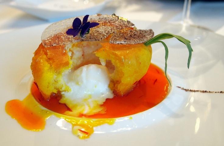 Lovely dessert @ 2 Michelin Star Restaurant Fischers Fritz in Berlin