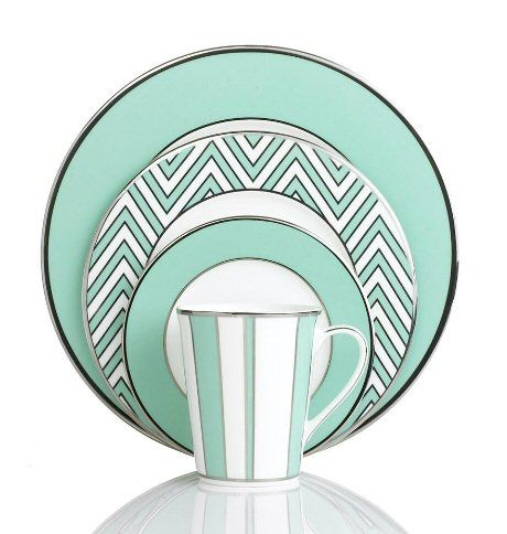 Mikasa Dinnerware Color Studio Turquoise Collection