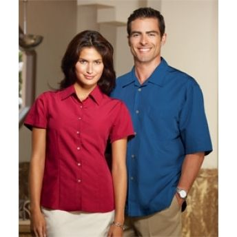 C98 Cubavera Ladies' Shadow Box Camp Shirt. Buy at wholesale rates