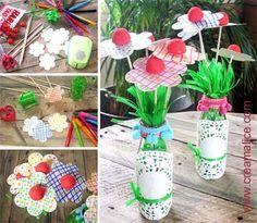 ¨°o.✿ Bouquet Fleurs Bonbons / DIY Candy Flower Bouquet ✿.o°¨  www.creamalice.com