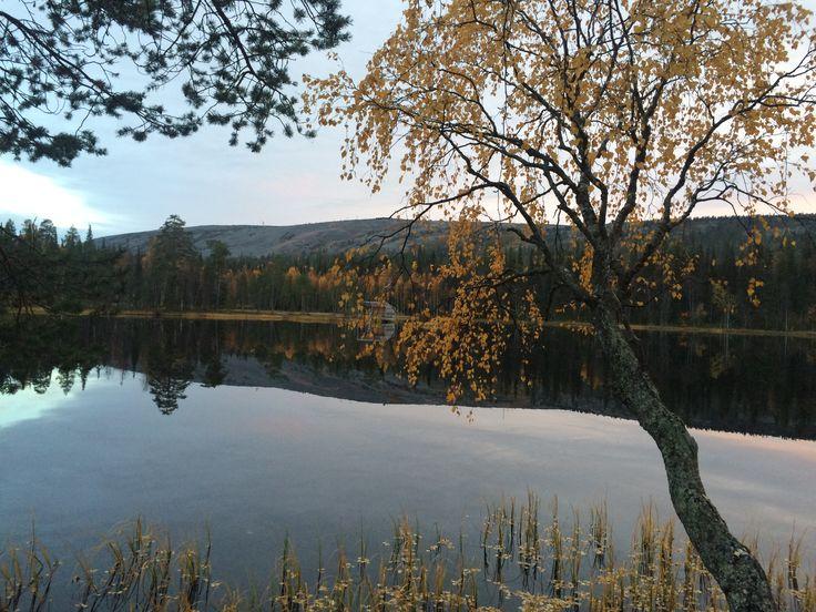 Luosto. Ahvenlampi. Lapland. Finland