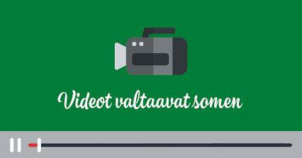 Videot valtaavat sosiaalisen median. Kooste Facebookin, Twitterin, Instagramin ja Snapchatin uutuuksista.