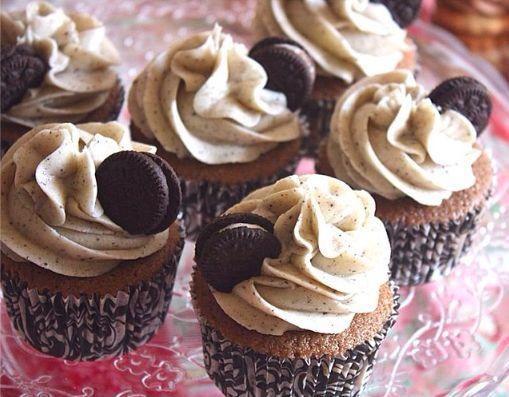Viernes viernesito♡♡ ¡Oreo cupcake!