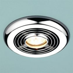 Combat d& provide additional lighting and match other chrome fittings in your bathroom with this modern Turbo Inline Timer Fan Chrome & 22 best Bathroom Lighting images on Pinterest | Bathroom lighting ... azcodes.com