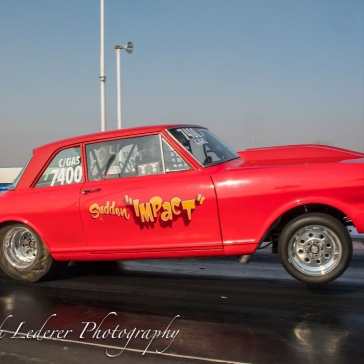 Chevy II Nova Drag Car For Sale. Reher Morrison 540ci