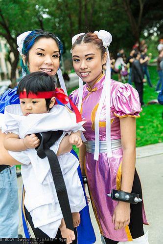 Ryu and Chun-Lis | Wizard Wold Sacramento 2014