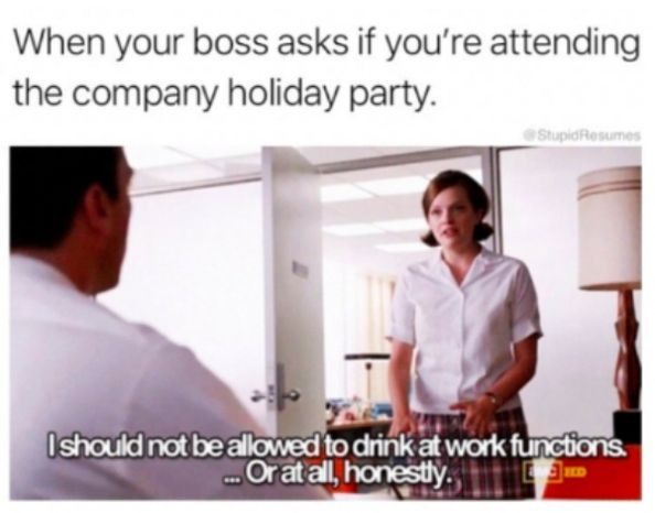 20 Funny Office Christmas Party Memes Funnyfoto Christmas Memes Funny Funny Pictures Funny