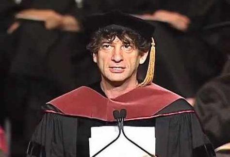 Neil Gaiman – Inspirador discurso de graduación #chingon #discurso #video