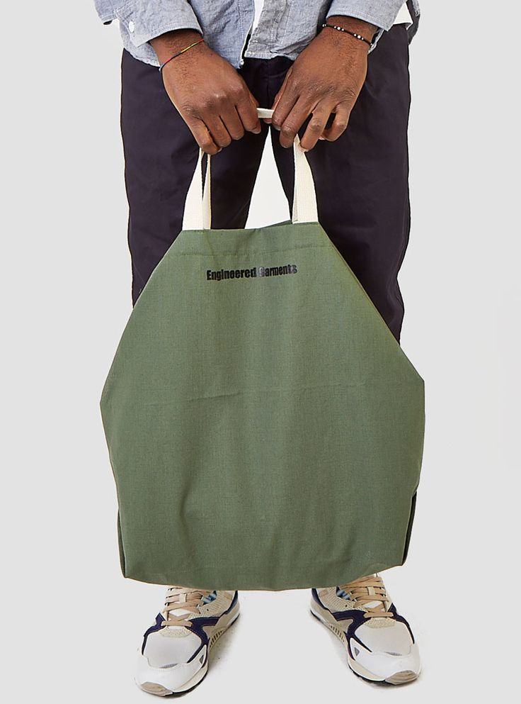 Carry All Tote Olive Nyco Ripstop