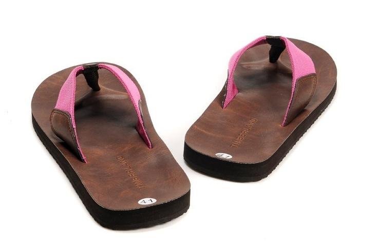 Women's Timberland Slipper Brown Pink